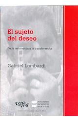 Papel EL SUJETO DEL DESEO