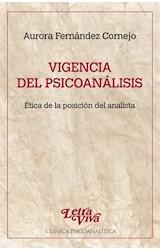 Papel VIGENCIA DEL PSICOANALISIS