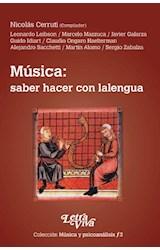 Papel MUSICA: SABER HACER CON LALENGUA