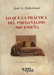 Libro Lo Que La Practica Del Psicoanalisis