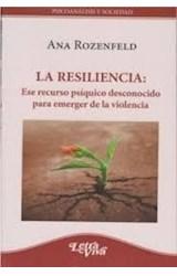Papel RESILIENCIA: ESE RECURSO PSIQUICO DESCONOCIDO PARA EMERGER D
