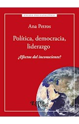 Papel POLITICA, DEMOCRACIA, LIDERAZGO
