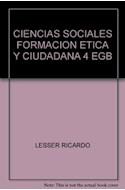 Papel CIENCIAS SOCIALES 4 AIQUE EGB FORMACION ETICA Y CIUDADA