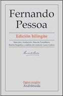 Papel FERNANDO PESSOA PAGINAS ESCOGIDAS [EDICION BILINGUE]