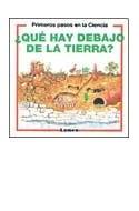 Papel QUE HAY DEBAJO DE LA TIERRA (PRIMEROS PASOS EN LA CIENC  IA)