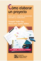 Papel COMO ELABORAR UN PROYECTO-GUIA P/DISEÑAR PROYECTOS SOCIALES
