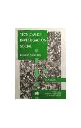 Papel TECNICAS DE INVESTIGACION SOCIAL