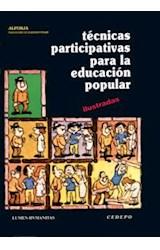 Papel TECNICAS PARTICIPATIVAS 1 PARA LA EDUCACION POPULAR