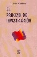 Papel EL PROCESO DE INVESTIGACION,