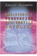 Papel MAGISTERIO Y RENOVACION CARISMATICA CATOLICA