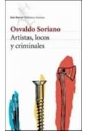 Papel ARTISTAS LOCOS Y CRIMINALES (COLECCION BIBLIOTECA SORIANO)