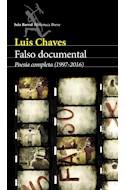 Papel FALSO DOCUMENTAL (POESIA COMPLETA 1997 - 2016) (COLECCION BIBLIOTECA BREVE) (RUSTICO)