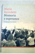 Papel MEMORIA Y ESPERANZA UN MENSAJE A LOS JOVENES (IMAGO MUNDI) (CARTONE)
