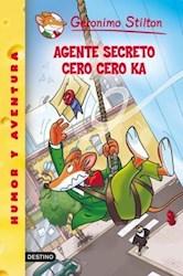 Libro Agente Secreto Cero Cero K