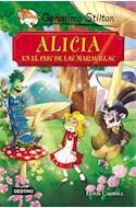 Papel ALICIA EN EL PAIS DE LAS MARAVILLAS (GERONIMO STILTON) [VERSION DEL CLASICO DE LEWIS CARROL]
