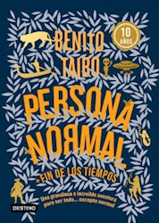 Libro Persona Normal ( Azul )