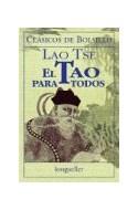 Papel TAO PARA TODOS (COLECCION CLASICOS DE BOLSILLO)