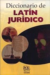 Libro Diccionario De Latin Juridico
