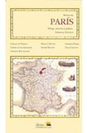 Papel PARIS (COLECCION GEOGRAFIAS LITERARIAS)