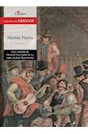 Papel MARTIN FIERRO (COLECCION DEL MIRADOR 256) (RUSTICA)