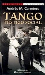Libro Tango  Testigo Social