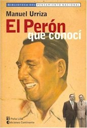Libro El Peron Que Conoci