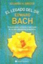 Libro El Legado Del Dr. Edward Bach