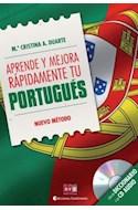 Papel APRENDE Y MEJORA RAPIDAMENTE TU PORTUGUES (CON UN DICCI  ONARIO Y UN CD AUDIO)