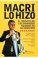 Papel MACRI LO HIZO EL IMPACTO DE LAS PRIMERAS MEDIDAS DE SU GOBIERNO (RUSTICO)
