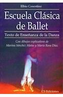 Papel ESCUELA CLASICA DE BALLET TEXTO DE ENSEÑANZA DE LA DANZA