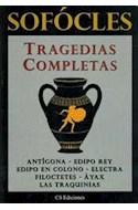 Papel TRAGEDIAS COMPLETAS (SOFOCLES)