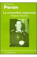 Papel COMUNIDAD ORGANIZADA PROYECTO NACIONAL