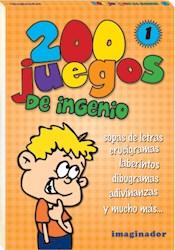 Libro 200 Juegos De Ingenio ( Volumen 1 )
