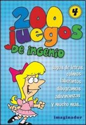 Libro 4. 200 Juegos De Ingenio
