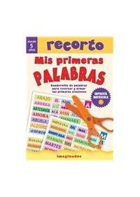 Papel Recorto Mis Primeras Palabras (Imprenta Mayuscula)