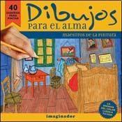 Papel DIBUJOS PARA EL ALMA MAESTROS DE LA PINTURA (40 DIBUJOS PARA PINTAR)