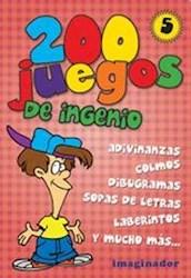 Libro 5. 200 Juegos De Ingenio