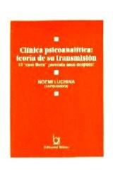 Papel CLINICA PSICOANALITICA: TEORIA DE SU TRANSMISION