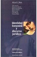 Papel IDENTIDAD FEMENINA Y DISCURSO JURIDICO