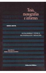 Papel TESIS, MONOGRAFIAS E INFORMES