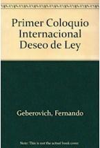 Papel DESEO DE LEY II PRIMER COLOQUIO INTERNACIONAL