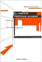 Papel VINCULO PROFESOR-ALUMNO, EL (UNA LECTURA PSICOLOGICA)