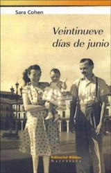 Libro Veintinueve Dias De Junio