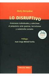 Papel LO DISRUPTIVO (AMENAZAS INDIVIDUALES Y COLECTIVAS: EL PSIQUI