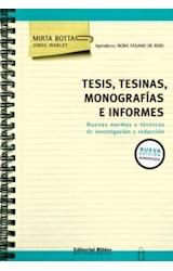 Papel TESIS, TESINAS, MONOGRAFIAS E INFORMES