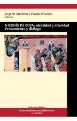 Papel NICOLAS DE CUSA: IDENTIDAD Y ALTERIDAD