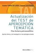 Papel ACTUALIZACION DEL TEST DE APERCEPCION TEMATICA UNA LECT  URA PSICOANALITICA (SERIE PSI)