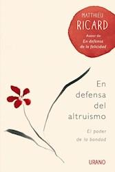 Libro En Defensa Del Altruismo