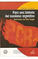 Papel PARA UNA HISTORIA DEL MAOISMO ARGENTINO
