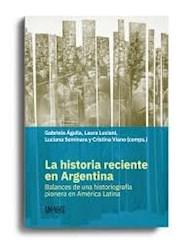 Libro La Historia Reciente En Argentina